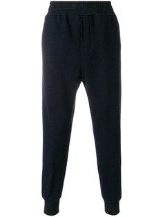 спортивные брюки с присборенными щиколотками Wooyoungmi