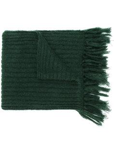 ребристый шарф с бахромой Mp  Massimo Piombo