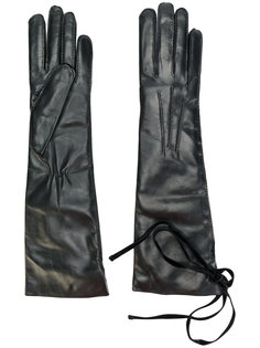 гладкие перчатки Ann Demeulemeester