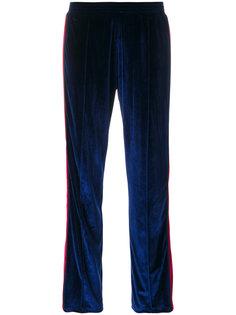 бархатные спортивные брюки Forte Couture