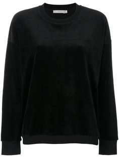 велюровый пуловер Vince