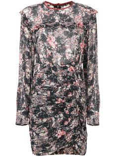 платье с цветочным принтом и оборками  Isabel Marant Étoile