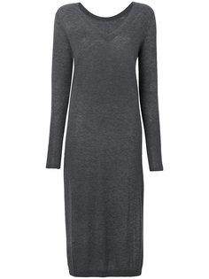 платье-свитер с V-образным вырезом Twin-Set