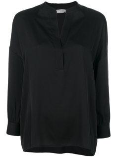 блузка с драпировкой Vince