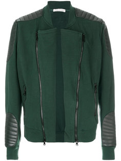 куртка с кожаными заплатками Pierre Balmain