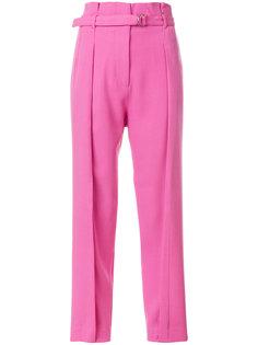 зауженные брюки с поясом  3.1 Phillip Lim
