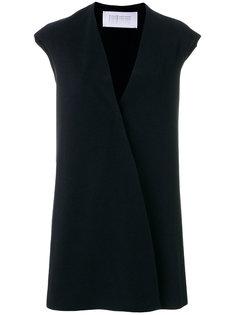 пальто с V-образной горловиной Harris Wharf London