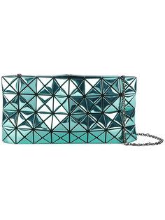 сумка с геометрическим узором и эффектом металлик Bao Bao Issey Miyake