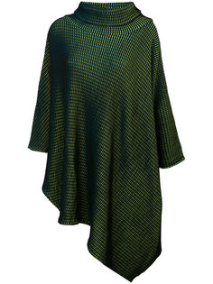 свитер-пончо с асимметричным краем  Issey Miyake