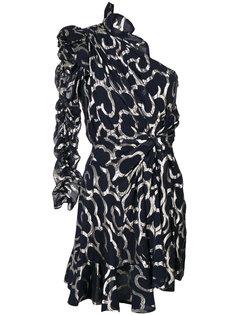 платье металлик Clary Isabel Marant