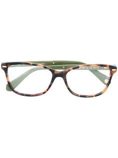 двухцветные очки Balmain