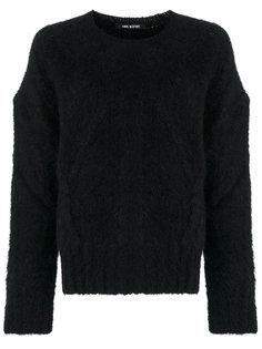 текстурный свитер свободного кроя Neil Barrett