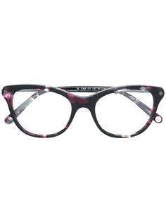 очки в круглой оправе Balmain