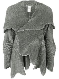 расклешенный жакет с вышивкой Issey Miyake