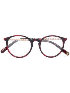 очки в оправе округлой формы Balmain