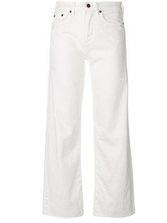 широкие джинсы с необработанными краями Simon Miller