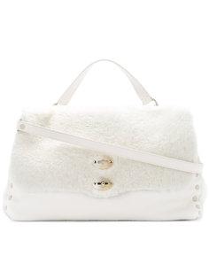 сумка-тоут с двойной застежкой Zanellato