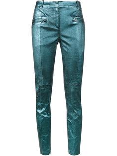 укороченные байкерские брюки Sies Marjan