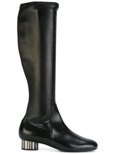 ботинки 'Flower Heel' Salvatore Ferragamo