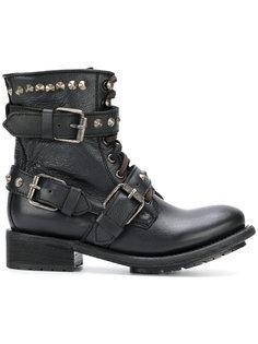 ботинки с заклепками Ash