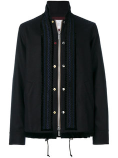 куртка в стиле милитари Sacai