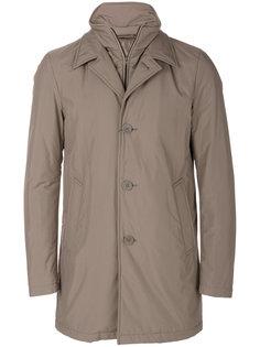 двухслойное пальто Herno