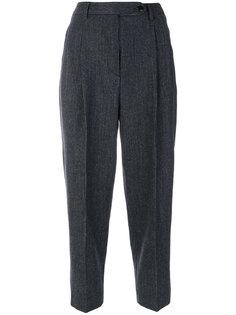 укороченные брюки в полоску Brag-Wette