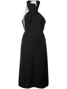 crystal-fringe dress Lanvin