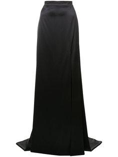 юбка со шлейфом Christian Siriano