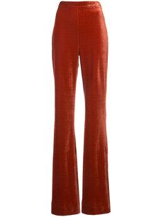 wide leg trousers Christian Siriano