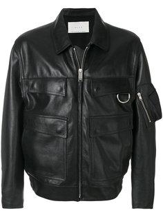 кожаная куртка с откидными клапанами Alyx