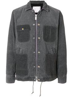 джинсовая куртка с накладными карманами Sacai