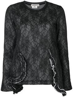lace sweatshirt Comme Des Garçons