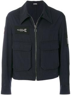 куртка-бомбер на молнии Lanvin