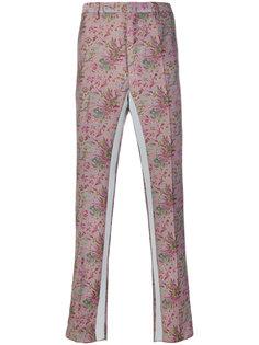 брюки-чинос с цветочным принтом Lanvin