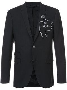 пиджак с графическим принтом  Neil Barrett
