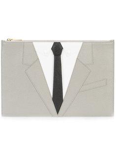 клатч с вышивкой  Thom Browne