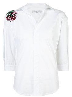 рубашка с вышивкой Patbo