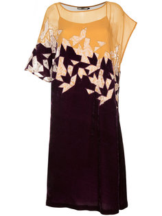 платье из шифона и бархата Aula