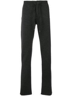 спортивные брюки с молниями Ermenegildo Zegna