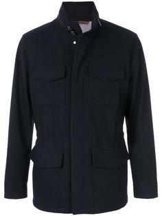 куртка в стиле милитари Ermenegildo Zegna