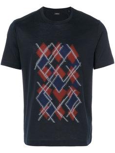 футболка с графическим принтом Z Zegna