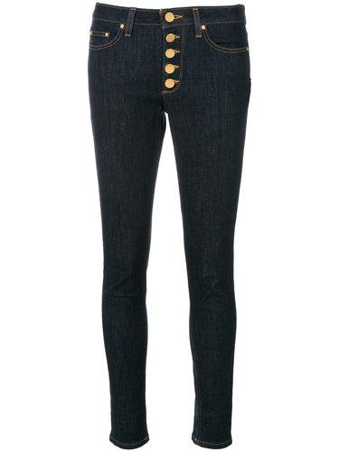 джинсы скинни на пуговицах  Michael Michael Kors