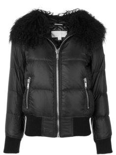 куртка с отделкой из искусственного меха  Michael Michael Kors