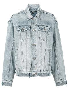 джинсовая куртка свободного кроя Ksubi