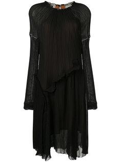 плиссированное платье Litkovskaya