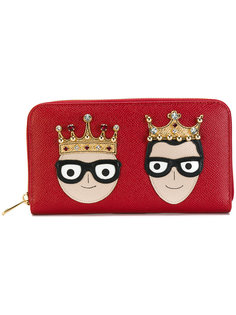 кошелек на молнии Dolce & Gabbana