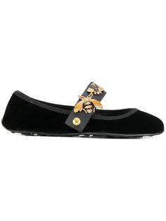 декорированные балетки Car Shoe