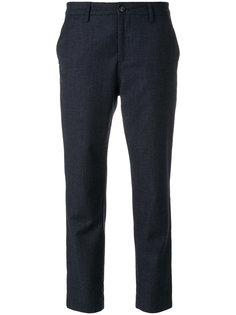 укороченные зауженные брюки Closed