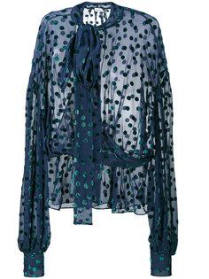 прозрачная блузка в горох Cali Magda Butrym